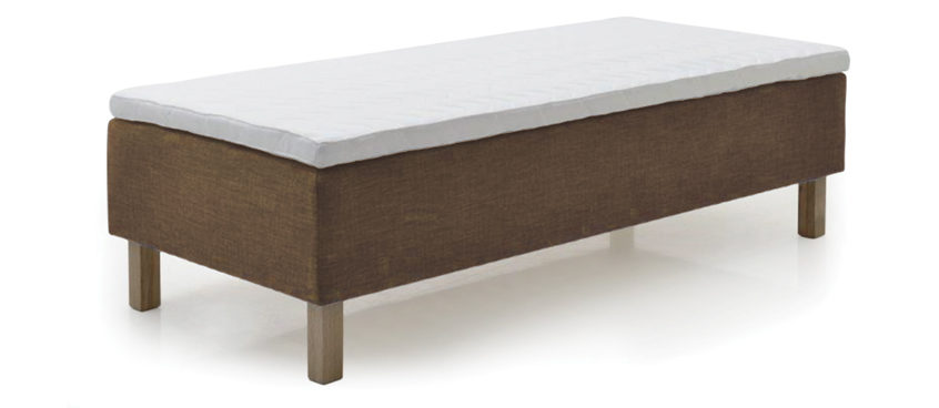 A Comfortable Spring Bed With A Double Spring System.